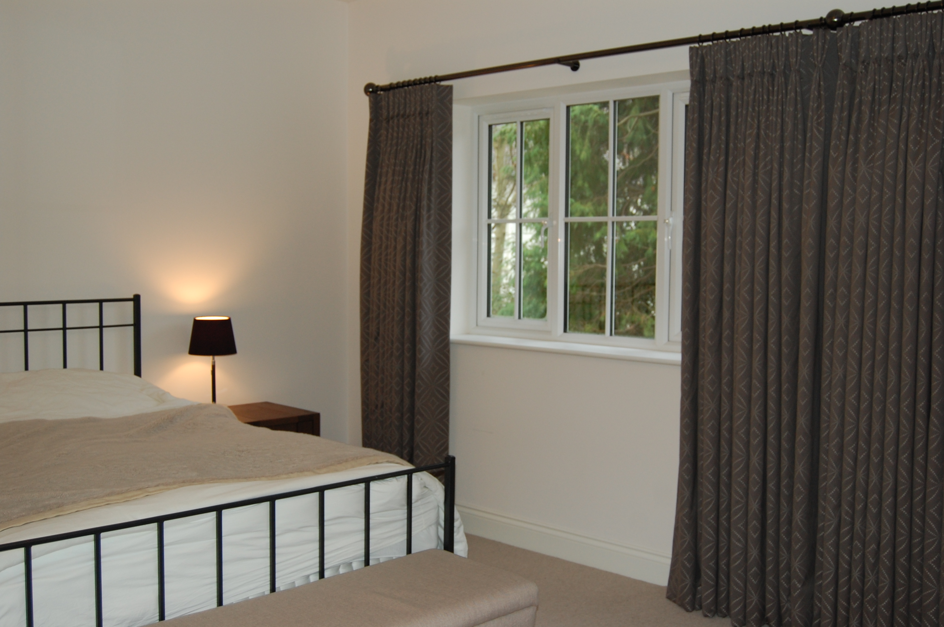 ... curtains. It is a popular heading for hand made, bespoke curtains