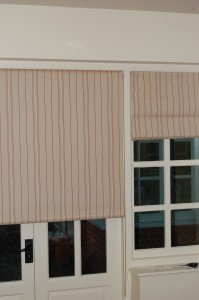 Many soft furnishing fabrics can be used for bespoke roller blinds as a special order