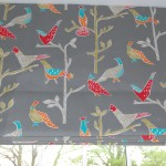 Roman blind made by Diana Murray Interiors