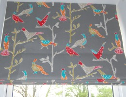 Roman blinds in Scion from Harlequin