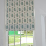 Roman blind in Scion fabric