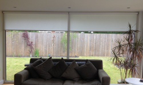 Diana Murray Interiors Contemporary Roller Blinds Diana